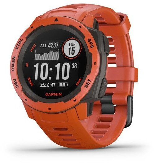 Ceas Garmin Garmin Instinct Red Optic