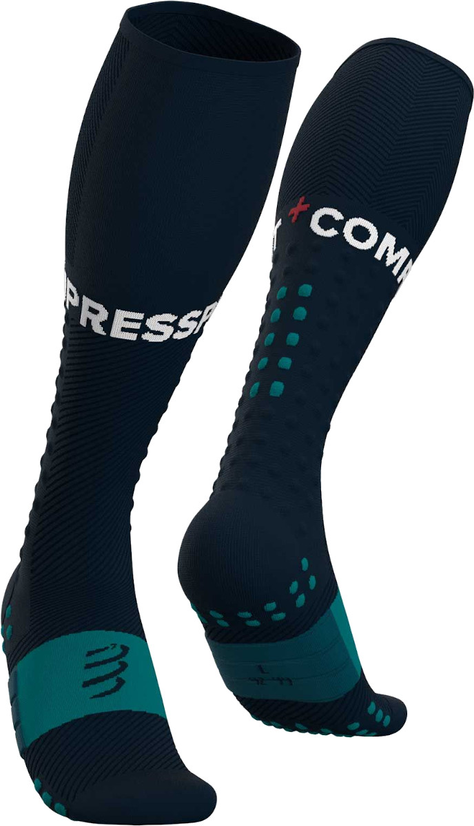 Jambiere Compressport Full Socks Run