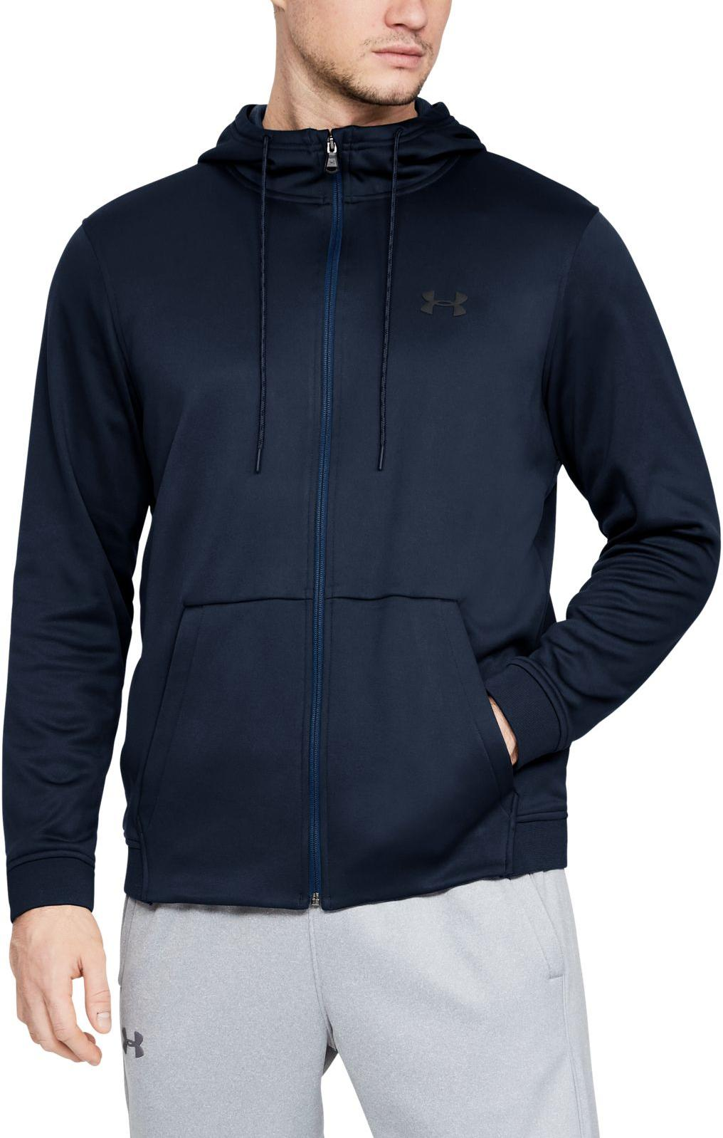 Hanorac cu gluga Under Armour ARMOUR FLEECE FZ HOODIE
