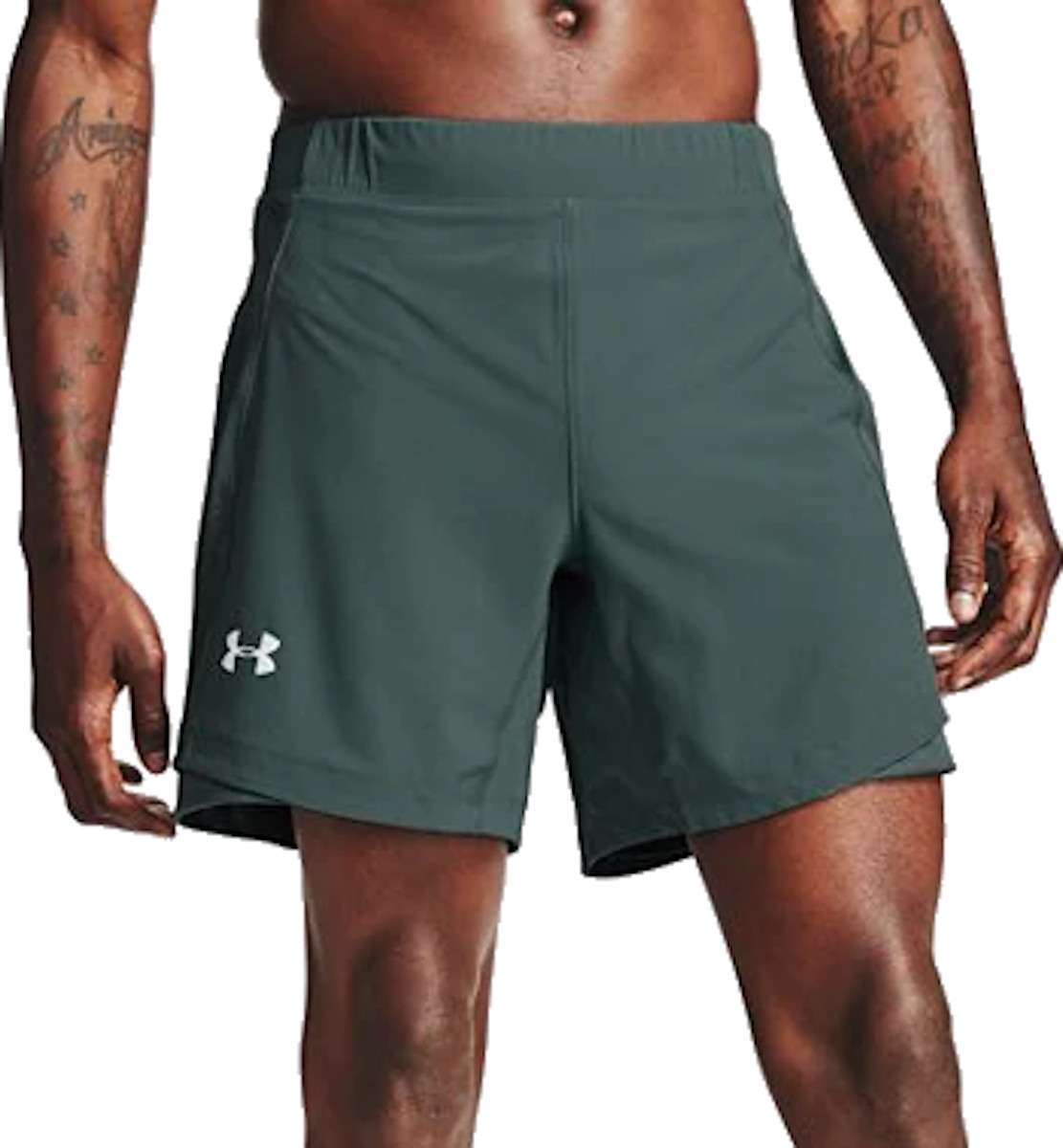 Sorturi Under Armour UA QUALIFIER SPEEDPOCKET 7 SHORT