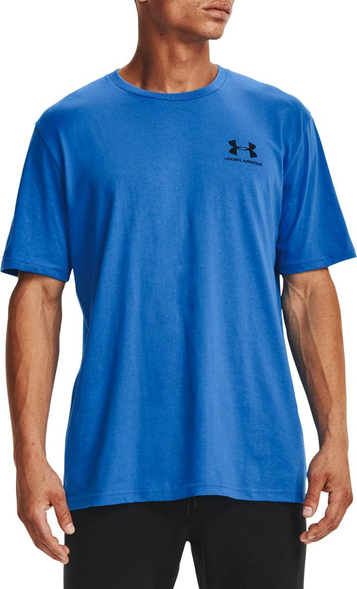 Tricou Under Armour UA SPORTSTYLE LC SS-BLU