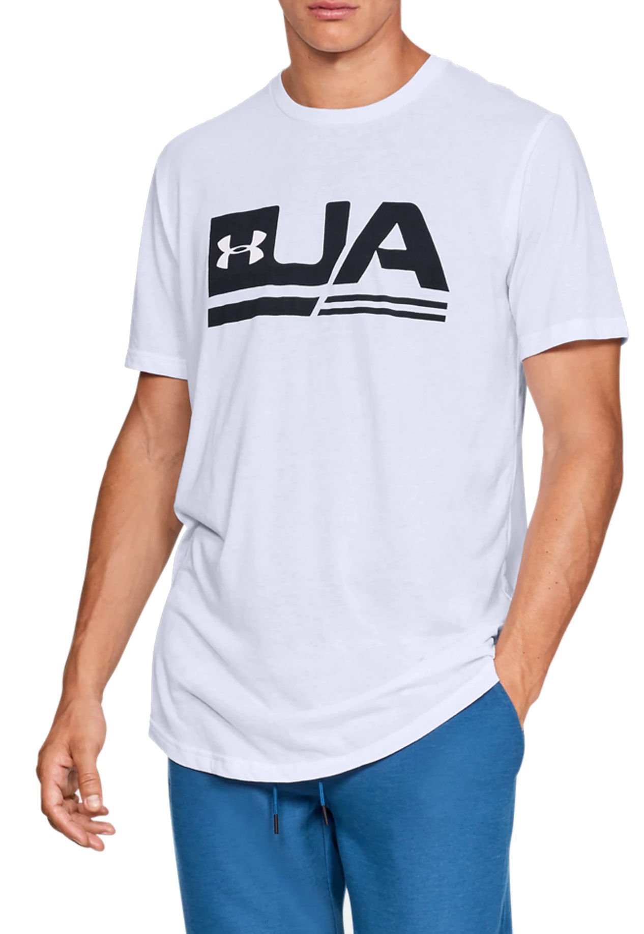 Tricou Under Armour UA SPORTSTYLE SS DROP HEM